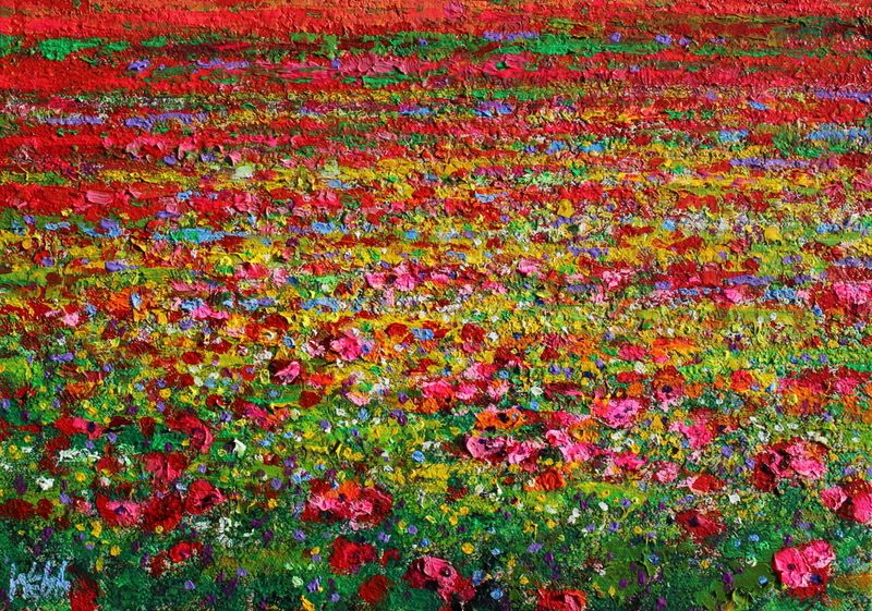 A Muster of Poppies